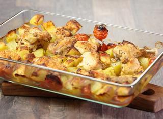 Pollo al forno con patate di chispa_fugaz