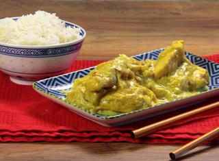 Petto di pollo al curry