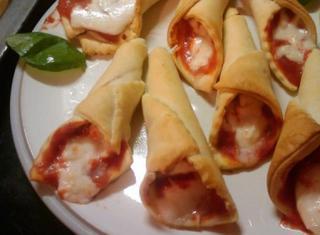 Coni pizza di pasta brisé