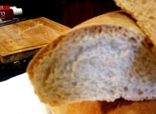 Pane con la pasta madre