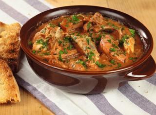 Cacciucco livornese zuppa di pesce
