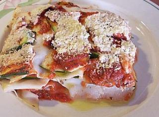Lasagne alle zucchine e ricotta
