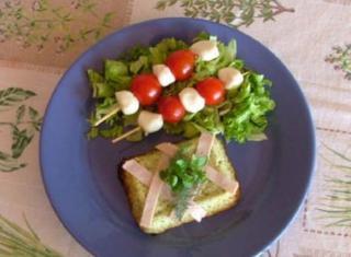 Sformato di asparagi e zucchini