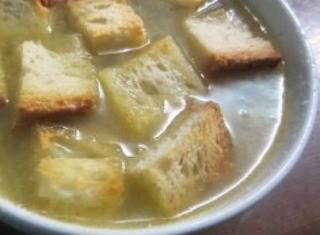 La vera zuppa di cipolle
