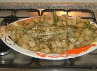 Merluzzo e patate al forno