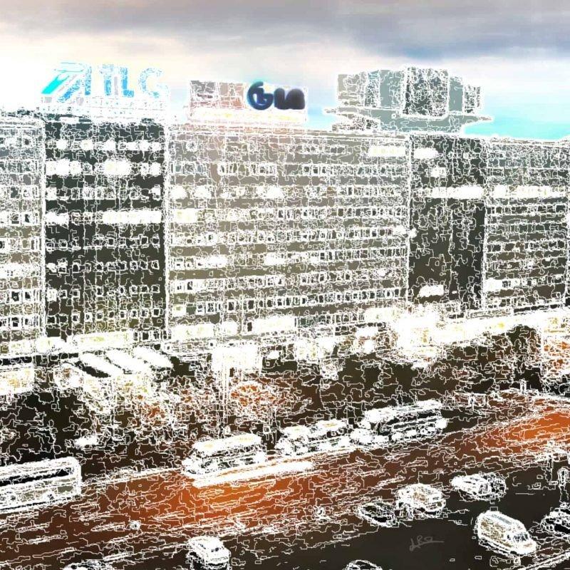 Berliner Haze - print
