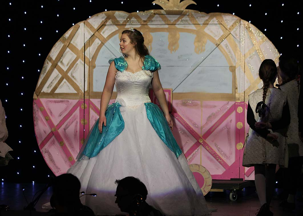 Cinderella Dress Rehearsal
