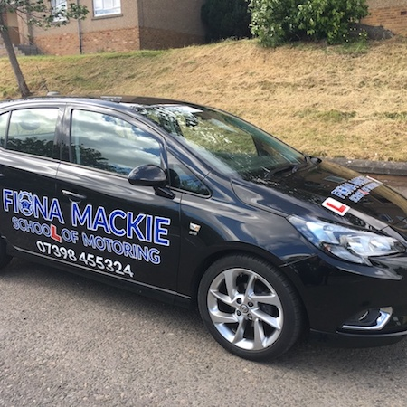 Fiona Mackie driving instructor