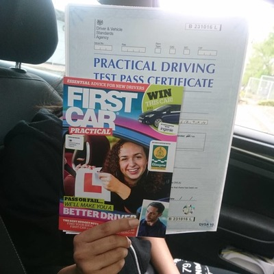 Razwan Sabir driving instructor