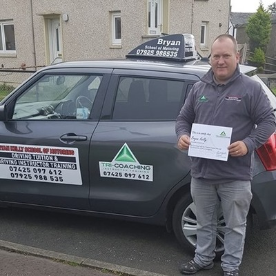 Bryan Kelly driving instructor