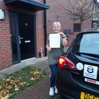 Michelle Keeling driving instructor
