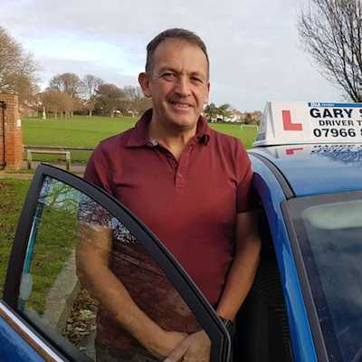 Gary Shaw driving instructor