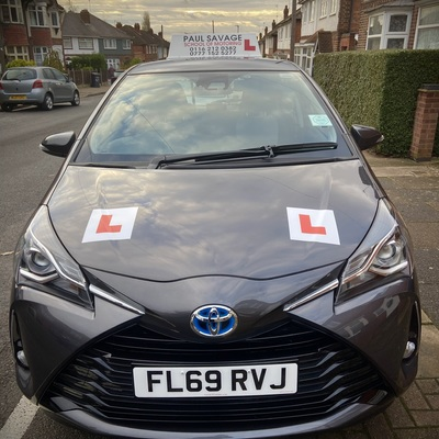 Paul Savage driving instructor