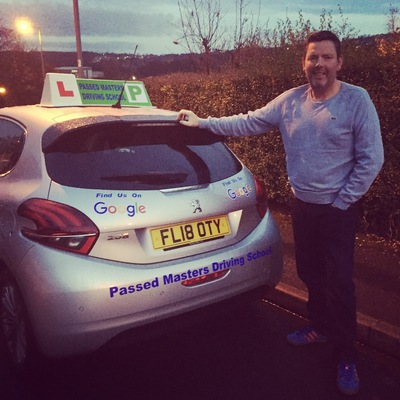 Mark Hudson driving instructor