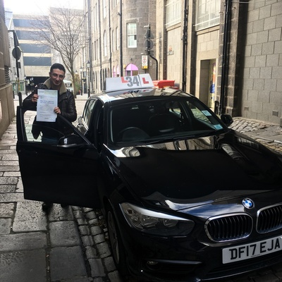 Burak Comert driving instructor