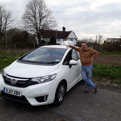 Gus Hilton driving instructor photo