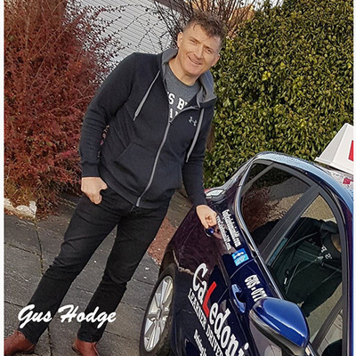 Gus Hodge driving instructor