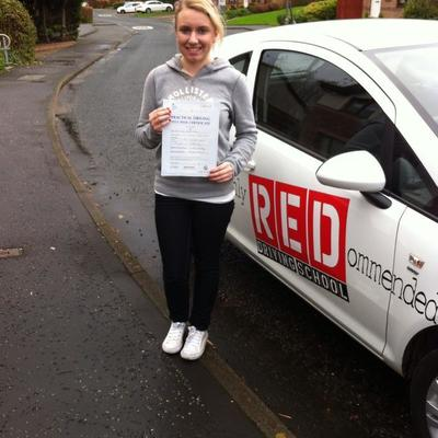 Jeanette Kelly driving instructor