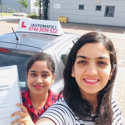 Tehmina Irum driving instructor