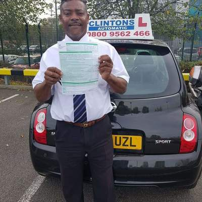 Clinton Laviniere driving instructor photo