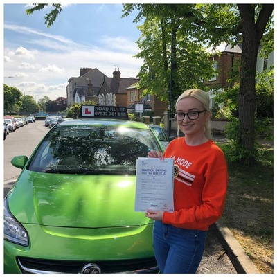 Lisa Smith driving instructor