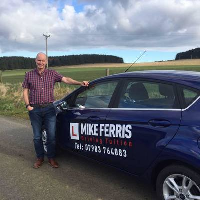 Mike Ferris driving instructor photo