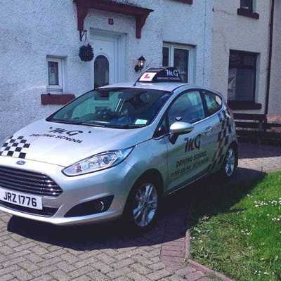 Thomas McGroarty driving instructor