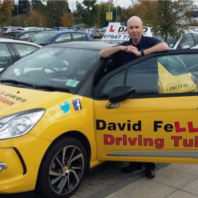 David Fellowes driving instructor