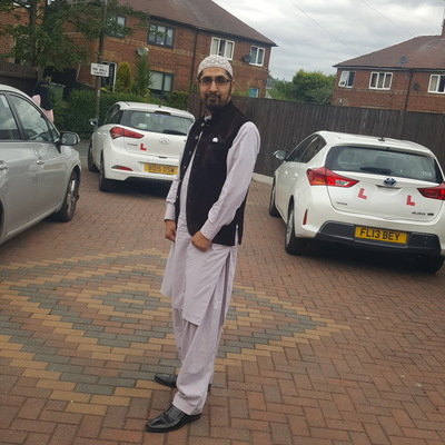 Raja Habib driving instructor