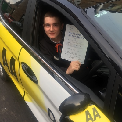 James Robertson driving instructor