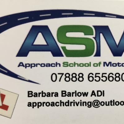 Barbara Barlow driving instructor