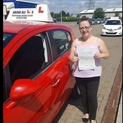 Janine Marie Hoburn driving instructor