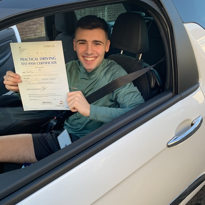 Robert Carberry driving instructor