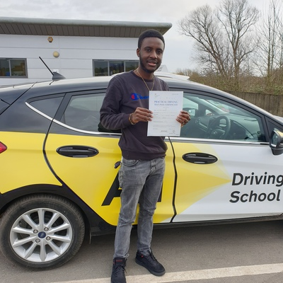 Wahid Allahi driving instructor