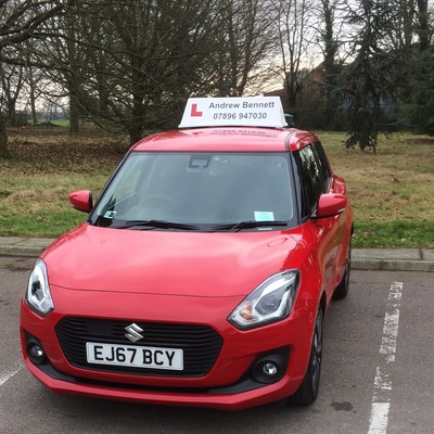 Andrew Bennett driving instructor