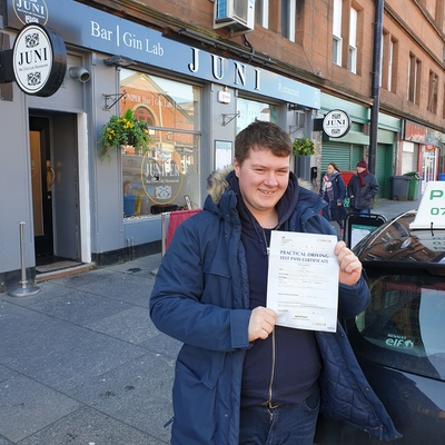 Paul Hunter driving instructor