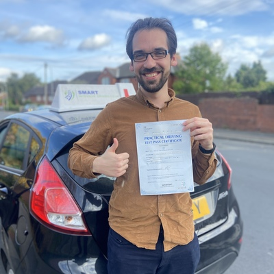 Mosa Suleiman driving instructor photo
