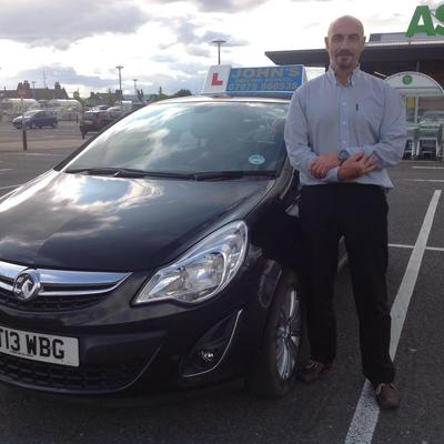 John Oldershaw driving instructor photo