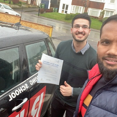 Zia Ahmed driving instructor