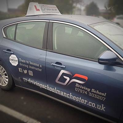 Guy Pennington driving instructor