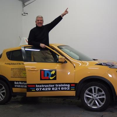Bob Morton driving instructor