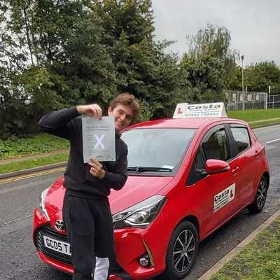 Andrew Costa driving instructor photo