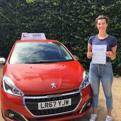 Danielle Simpson driving instructor