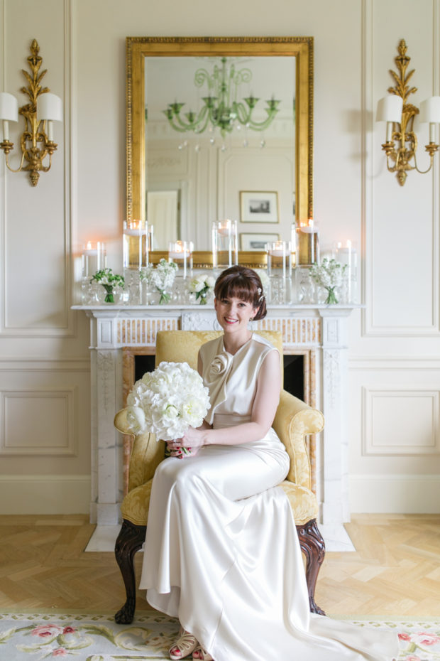intimate wedding at the savoy hotel in london