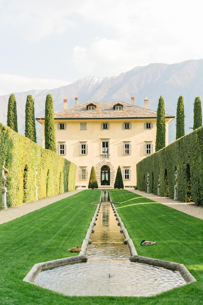 Villa Balbiano in Lake Como