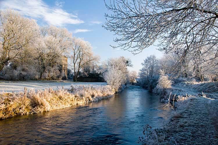 winter landscape images
