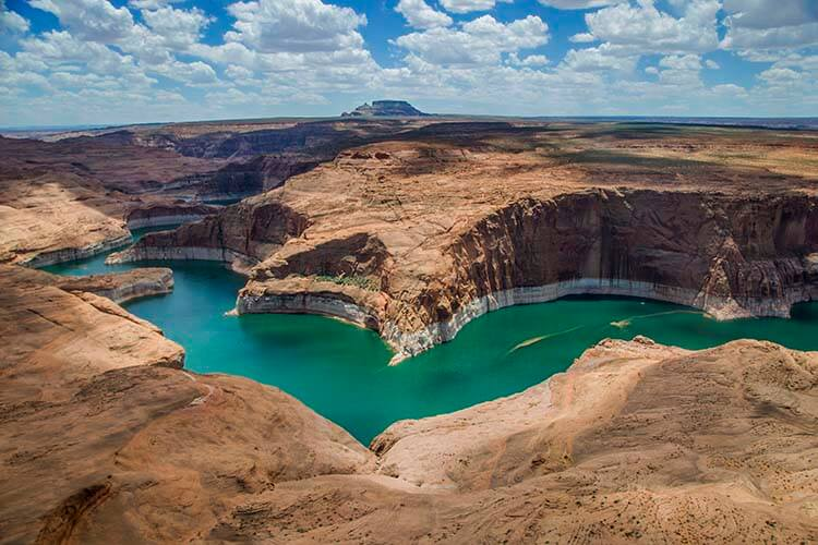 lake powell aerial photos