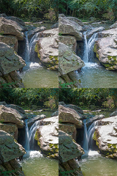 how to take waterfall pictures