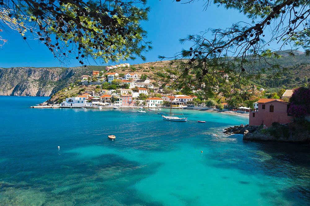 assos in kefalonia greece