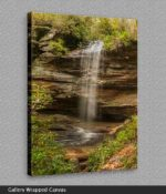 beautiful waterfall canvas